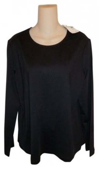Chico's T Shirt Black