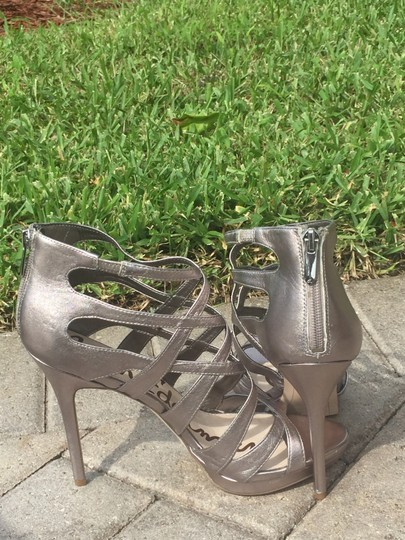 Sam Edelman Gifts For Her Silver Sandals Image 1