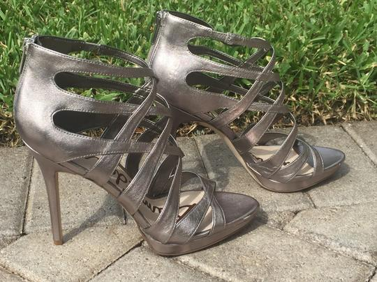 Sam Edelman Gifts For Her Silver Sandals Image 2