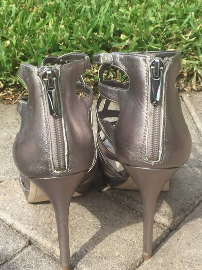 Sam Edelman Gifts For Her Silver Sandals Image 3