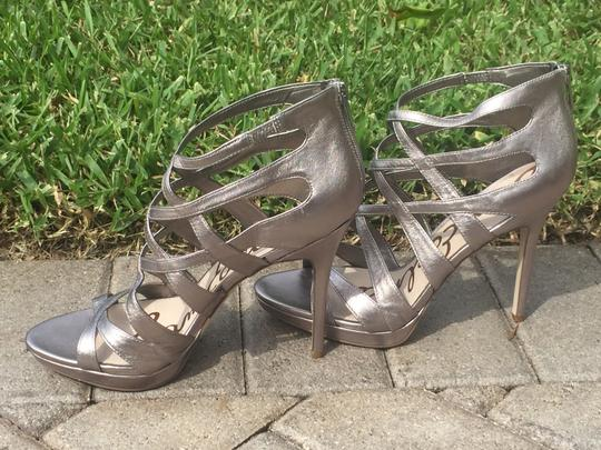 Sam Edelman Gifts For Her Silver Sandals Image 4