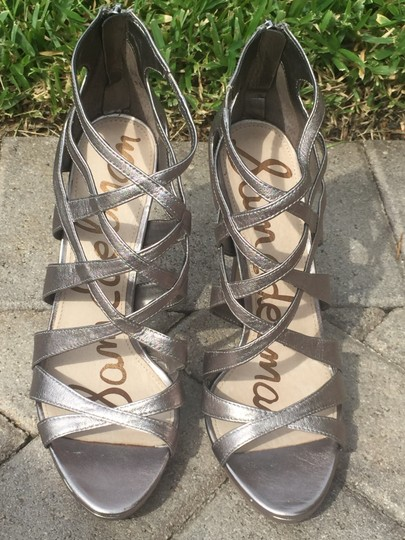 Sam Edelman Gifts For Her Silver Sandals Image 6