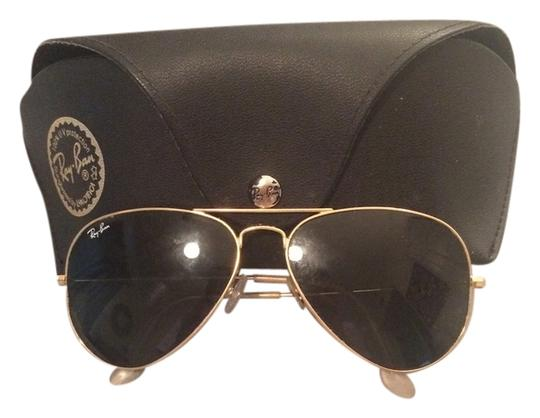 b3f90af2f8 Ray-Ban Green Classic Lenses with Gold Frame Rb3025 55-14 Aviator ...