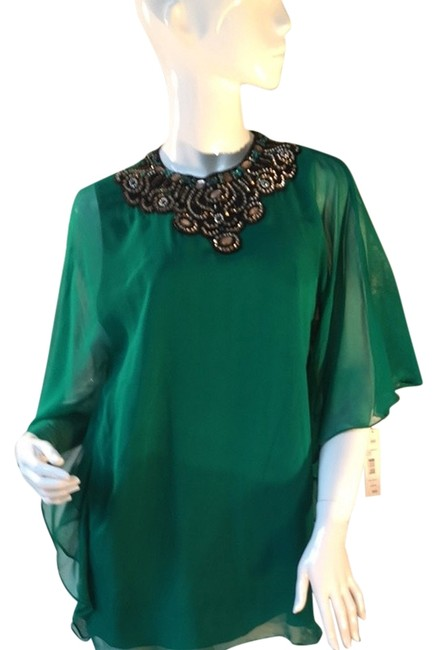 Preload https://item4.tradesy.com/images/green-blouse-size-12-l-3955453-0-0.jpg?width=400&height=650