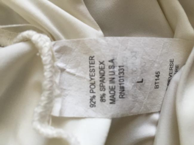 Charlotte Russe T Shirt Ivory Brown Blue Image 2