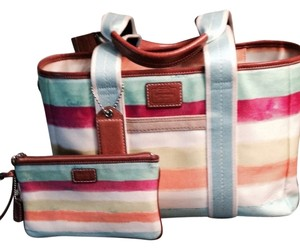 Coach Tote in Multi-color