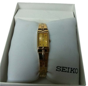 Seiko Seiko Ladies Gold Tone Bracelet Watch Style SZZC44