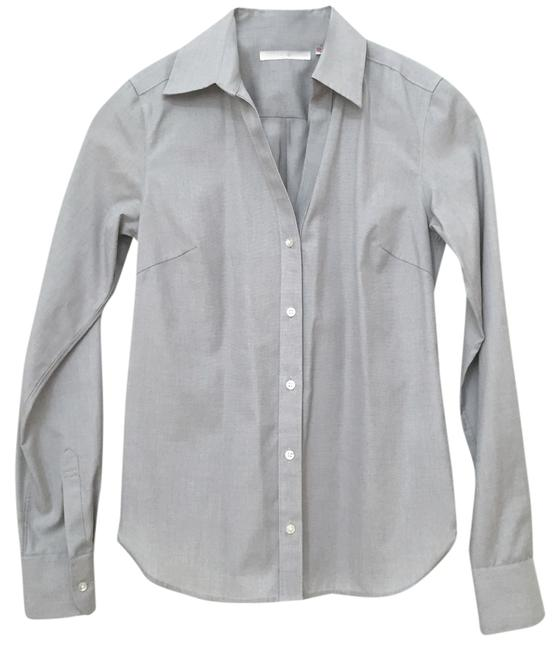 Preload https://item1.tradesy.com/images/uniqlo-grey-button-down-top-size-2-xs-3955930-0-0.jpg?width=400&height=650