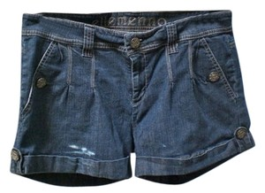 Ellemenno Denim Shorts-Dark Rinse