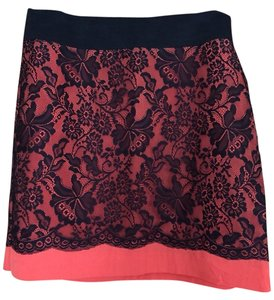 The Limited Skirt Orange And Black