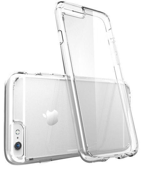 "Other Clear - IPhone 6 4.7"" TPU Rubber Gel Ultra Thin Case Cover Transparent Glossy 10 Colors Available"