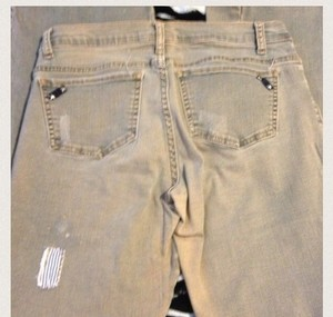 0 Degrees Boot Cut Jeans-Distressed