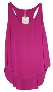 Eight Sixty New Designer Hot Mama Pink Top Orchid