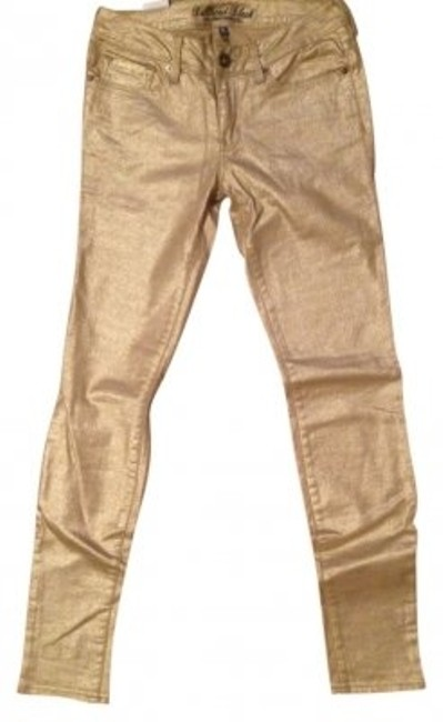 Preload https://img-static.tradesy.com/item/39572/pacific-sunwear-metallic-gold-colored-pacsun-skinny-jeans-size-29-6-m-0-0-650-650.jpg