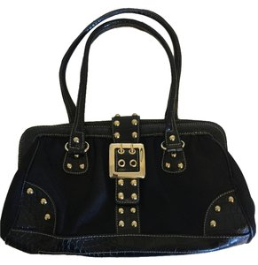 Kathy Van Zeeland Satchel in Black Purse