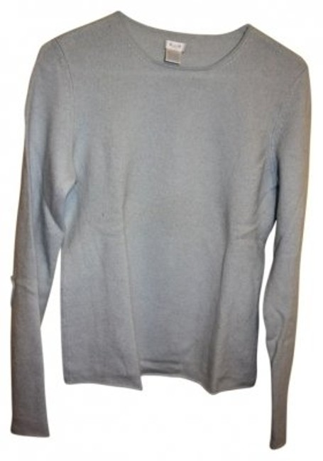 Preload https://item2.tradesy.com/images/aqua-light-blue-cashmere-sweaterpullover-size-12-l-39576-0-0.jpg?width=400&height=650