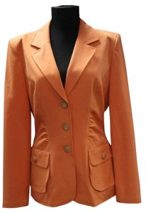 St. John orange Blazer