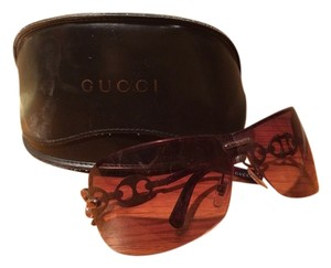 Gucci Gucci Brown Aviator Sunglasses