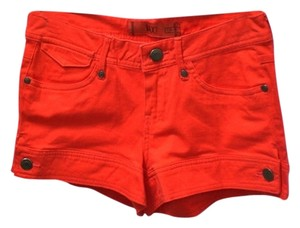 Max Rave Mini/Short Shorts orange