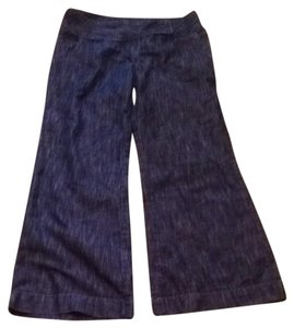 Other Trouser/Wide Leg Jeans-Dark Rinse