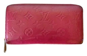 Louis Vuitton Louis Vuitton Vernis Framboise Zippy Wallet