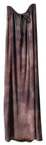 Luz Omayra Maxi Skirt grey, silver, white, brown