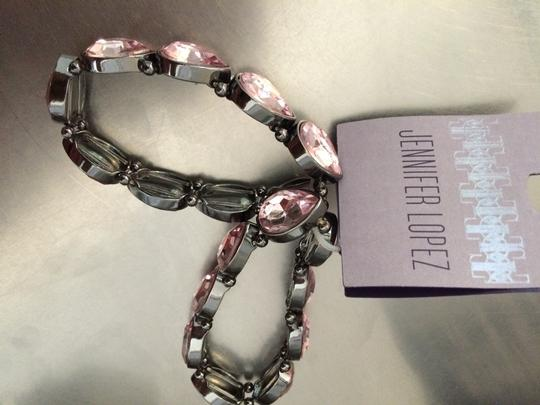Jennifer Lopez Jennifer Lopez Set of 2 Pink Teardrop Bracelets