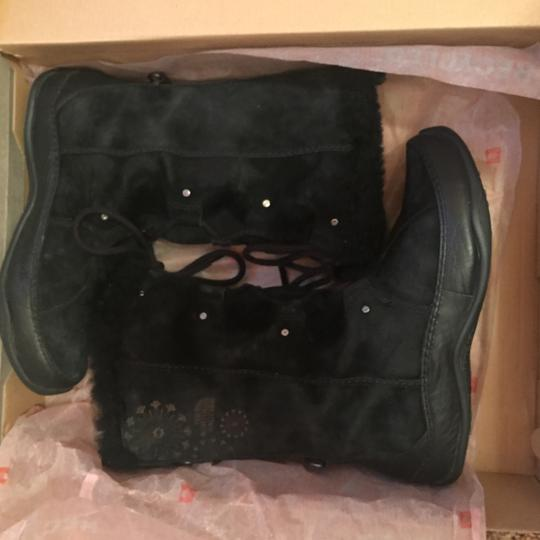 The North Face Furry Snow Black Boots