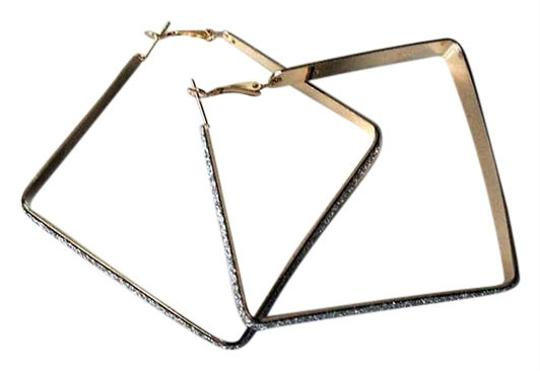 Preload https://item2.tradesy.com/images/colette-gold-and-silver-square-crystal-dust-covered-hoop-earrings-395946-0-0.jpg?width=440&height=440