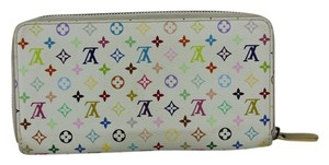 Louis Vuitton Louis Vuitton Wallet Multicolor Zippy Zip Around
