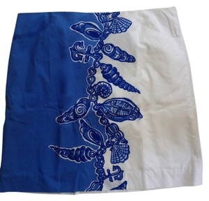 Lilly Pulitzer Preppy Skirt Blue & White