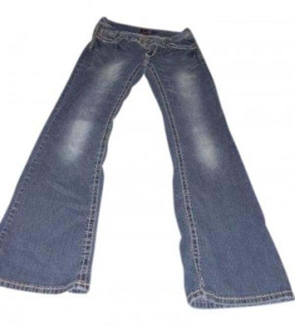 Item - Dark Blue Medium Wash Boot Cut Jeans Size 31 (6, M)