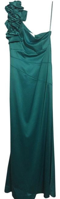 Preload https://item3.tradesy.com/images/david-s-bridal-teal-long-formal-dress-size-6-s-3959722-0-0.jpg?width=400&height=650