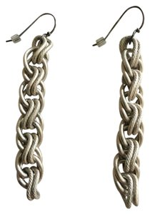 Sarah Cavender Metalworks Handmade Sarah Cavender earrings in silver finish
