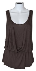 Soprano Layered Layering Top Brown