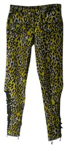Just Cavalli Skinny Pants animal print