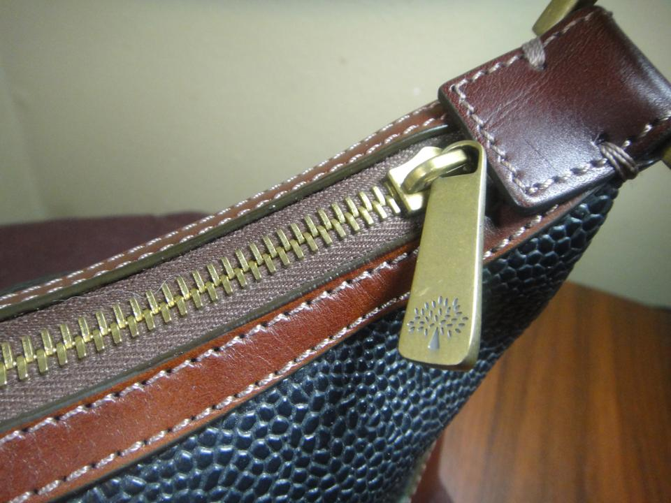 cfc14383db0e Mulberry Vintage Scotchgrain   Leather Brought In London Black Brown ...