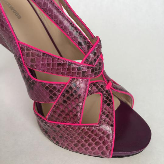 Nicholas Kirkwood Purple And Pink Sandals