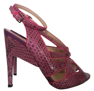 Nicholas Kirkwood Purple And Pink Pumps