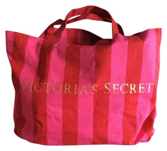 Victoria's Secret Tote in Pink and red