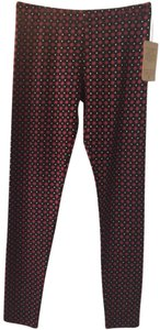 Threads 4 Thought Red And Black Leggings
