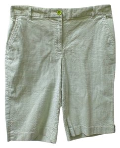 Charter Club Bermuda Shorts white, green