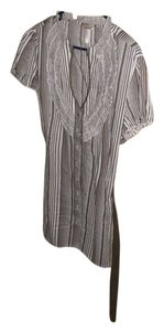 Krafty Tie Bow Striped Belted Tunic
