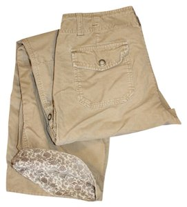 Eddie Bauer Corduroy Straight Pants tan