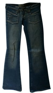 Sexso Jeans Flare Leg Jeans-Medium Wash