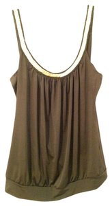 Charlotte Russe Gold Hardware Backless Dressy Top Black