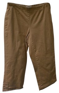 Liz Claiborne Capris light brown