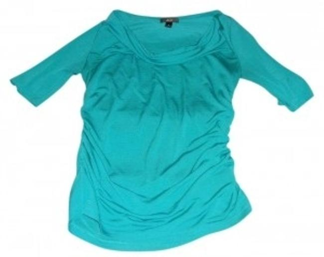 Preload https://item1.tradesy.com/images/agb-torquoise-blouse-size-6-s-39635-0-0.jpg?width=400&height=650