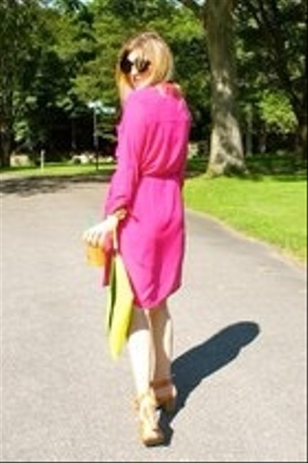 MM Couture short dress Hot Pink on Tradesy
