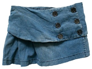 Duchesse Mini Skirt denim